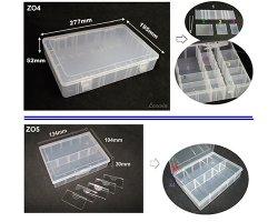 42-16-4 PLASTIC DIVIDER CASE -REMOVABLE DIVIDER